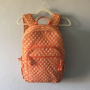 Vera Bradley Orange Backpack